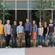 Lab Members Emily, Porter, Andrew, and Landon All Receive Simmons Center Cancer Fellowships